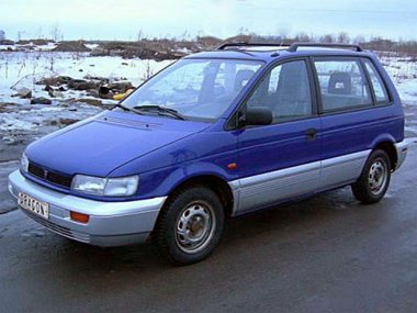 Mitsubishi Space Runner (1991-1998)  мех. КП
