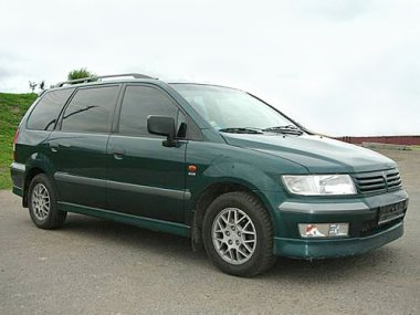 Mitsubishi Space Wagon (1998- ) мех. КП